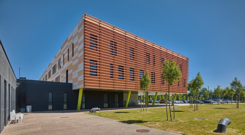 construction de l'hôpital Verneuil Sur Avre