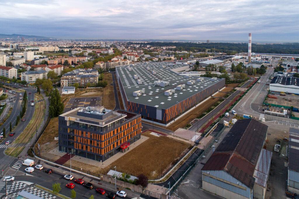 Le technicentre SNCF à Vénissieux