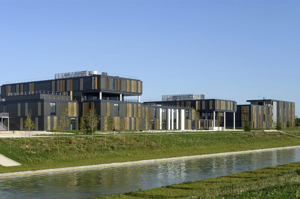Vue d'ensemble de l'ICAM à Lieusaint