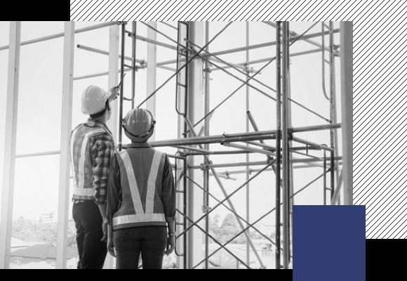 des animateurs HSE qui assurent la sécurité sur les chantiers